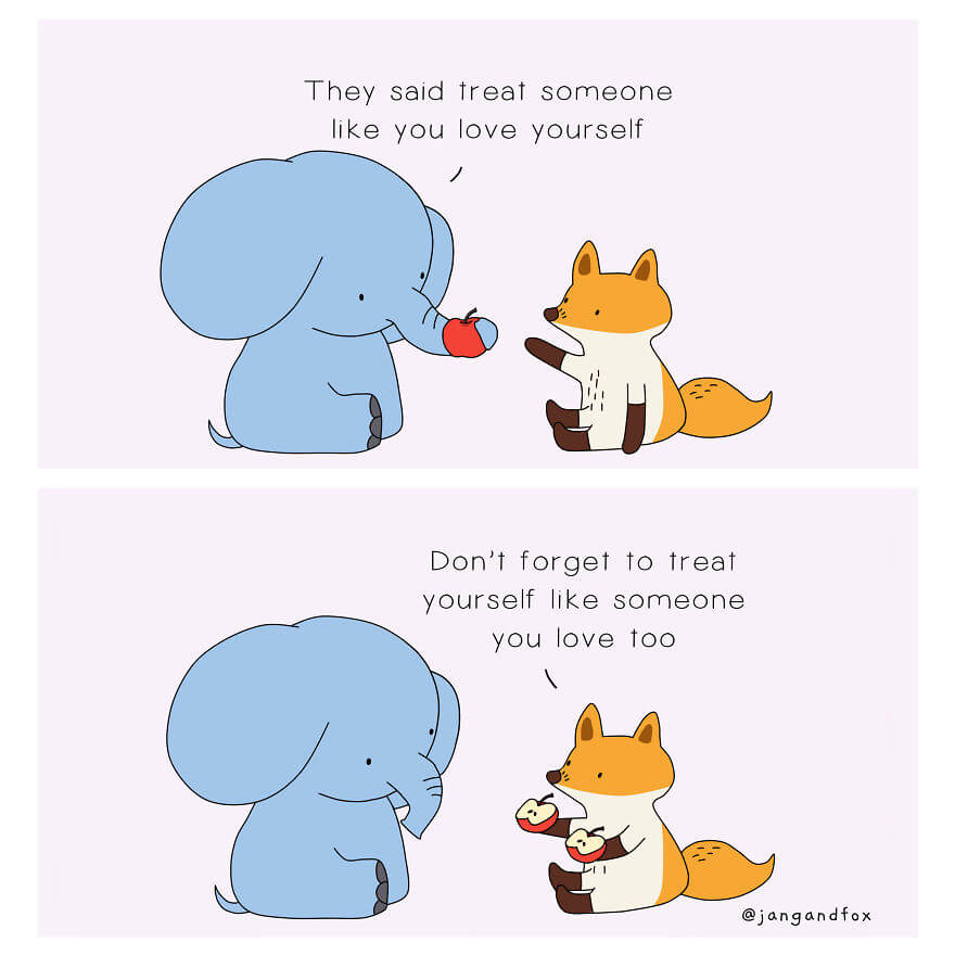 30 Beautiful Animal Comics That Will Inspire People To Love And Care For Themselves