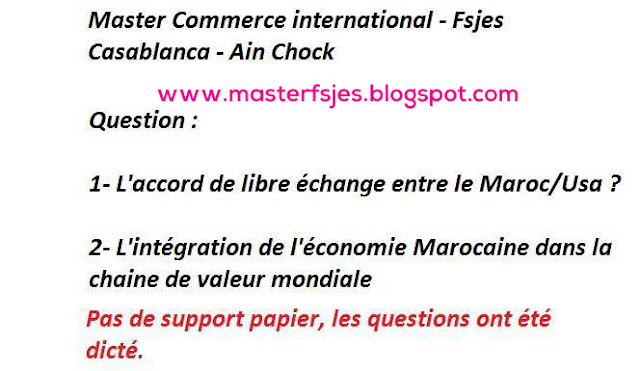 Master Commerce Internationale