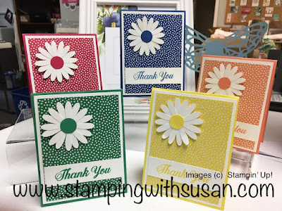 Stampin' Up!, www.stampingwithsusan.com, 2018-2020 In Colors, Daisy Delight Punch