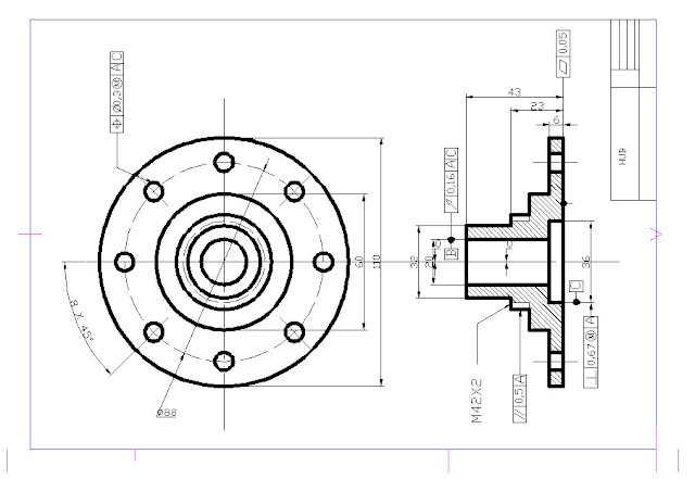 technic Autocad: CHARACTER OF GEOMETRIC AND SYMBOLS By