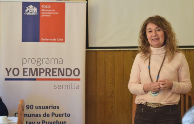 María Elena Ojeda, alcaldesa de Puerto Octay,