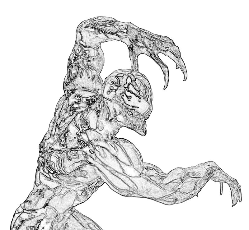 carnage spider man coloring pages - photo#20