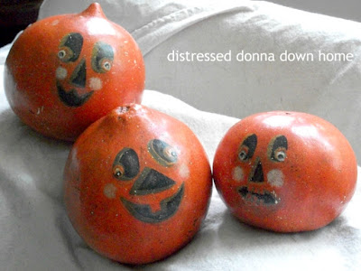 Halloween decor, fall decor, decluttering