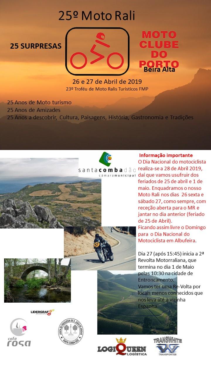 25º Moto Rali Turísitico do MC Porto_26 e 27 de Abril 20190426_Prog1