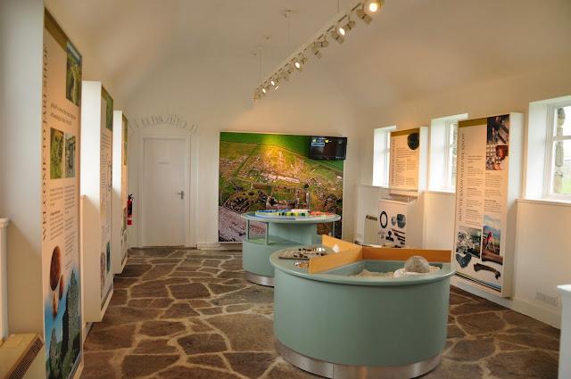 wielokulturowe stanowisko archeologiczne w Jarlshof, Szetlandy - muzeum