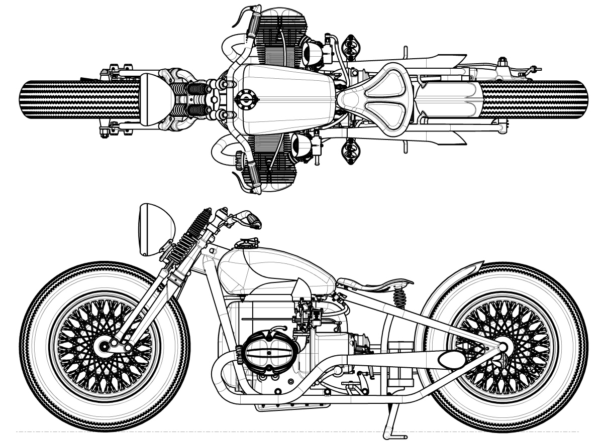 TheCafeRacerCult: Sketch