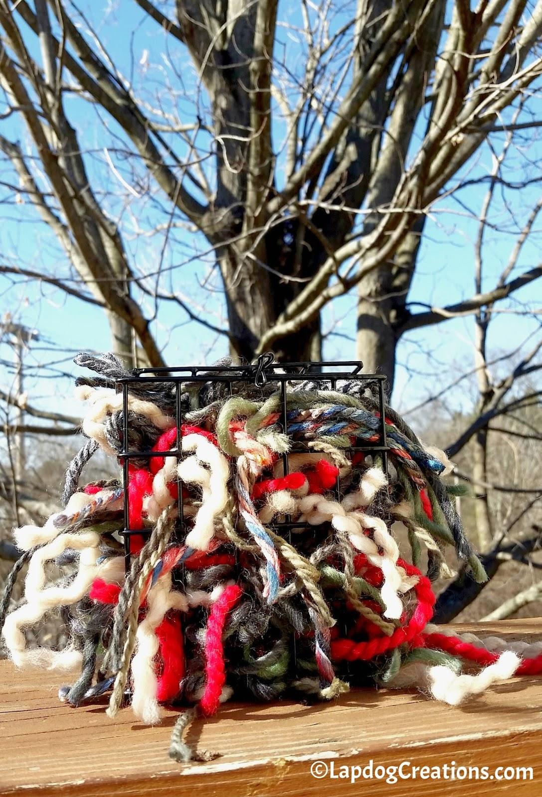 yarn clippings for birds - HD1087×1600