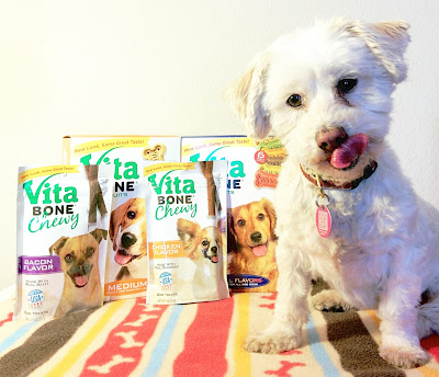 Vita Bone dog biscuits are both delicious & nutritious!