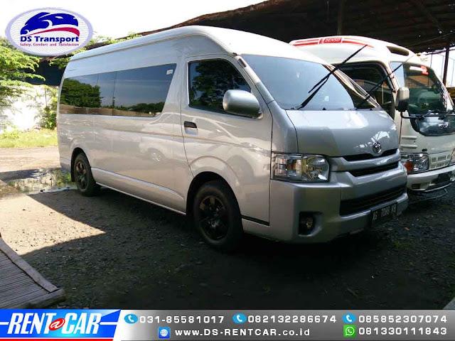 Rental Mobil Hiace Commuter Surabaya 16 kursi