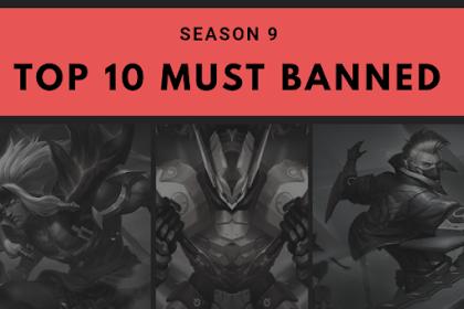 Top 10 Hero Wajib Banned Di Season 9 Ini