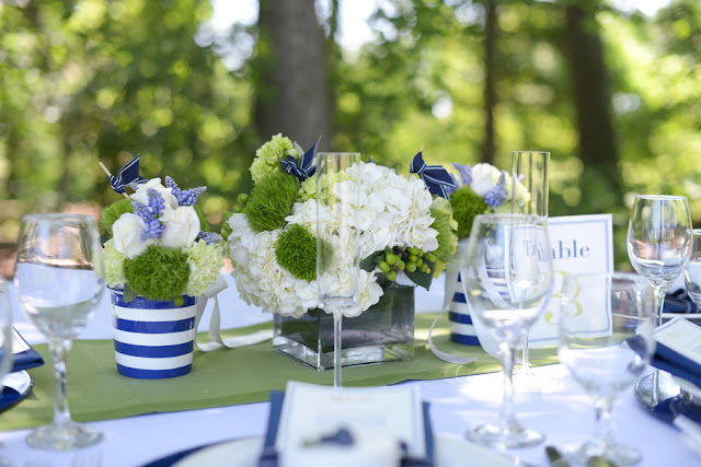 white+blue+navy+green+lime+neon+wedding+yellow+dessert+table+reception+bride+groom+bouquet+cake+table+setting+favors+pie+lemonade+summer+outdoor+rustic+nautical+beach+ocean+sea+dani+fine+photography19 - Preppy Summer