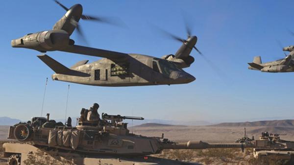 EEUU prepara el helicóptero que jubilará a los 'Black Hawk', 'Chinook' y 'Apache' Afrikakompanie