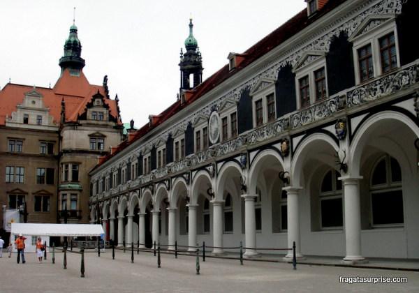 Liça do Burghof, Castelo de Dresden