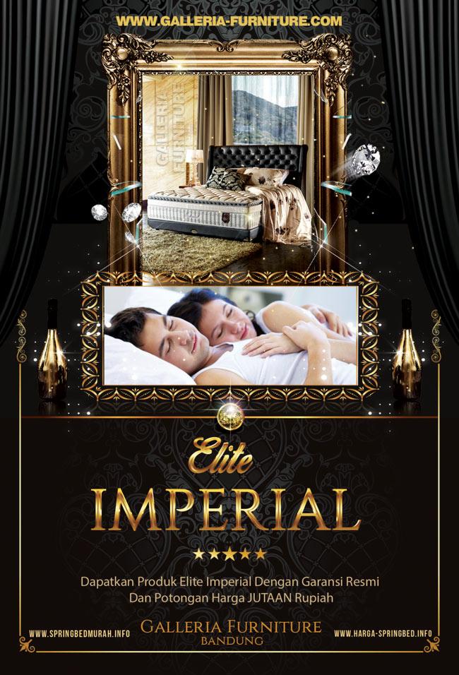 Harga Matras Spring Bed Elite Imperial