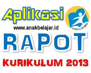 download aplikasi rapot kurikulum 2013