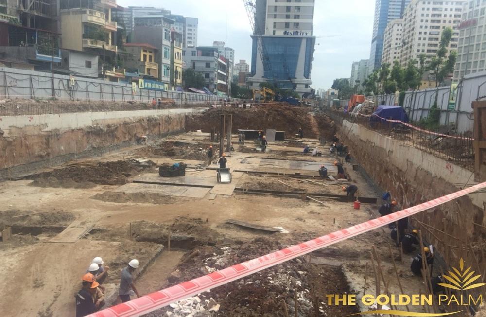 Hình ảnh công trường dự án cập nhật tháng 7/2016
