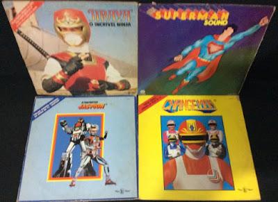 Tem Na Web - Discos de Vinil: Jaspion - Changeman - Ninja Jiraya