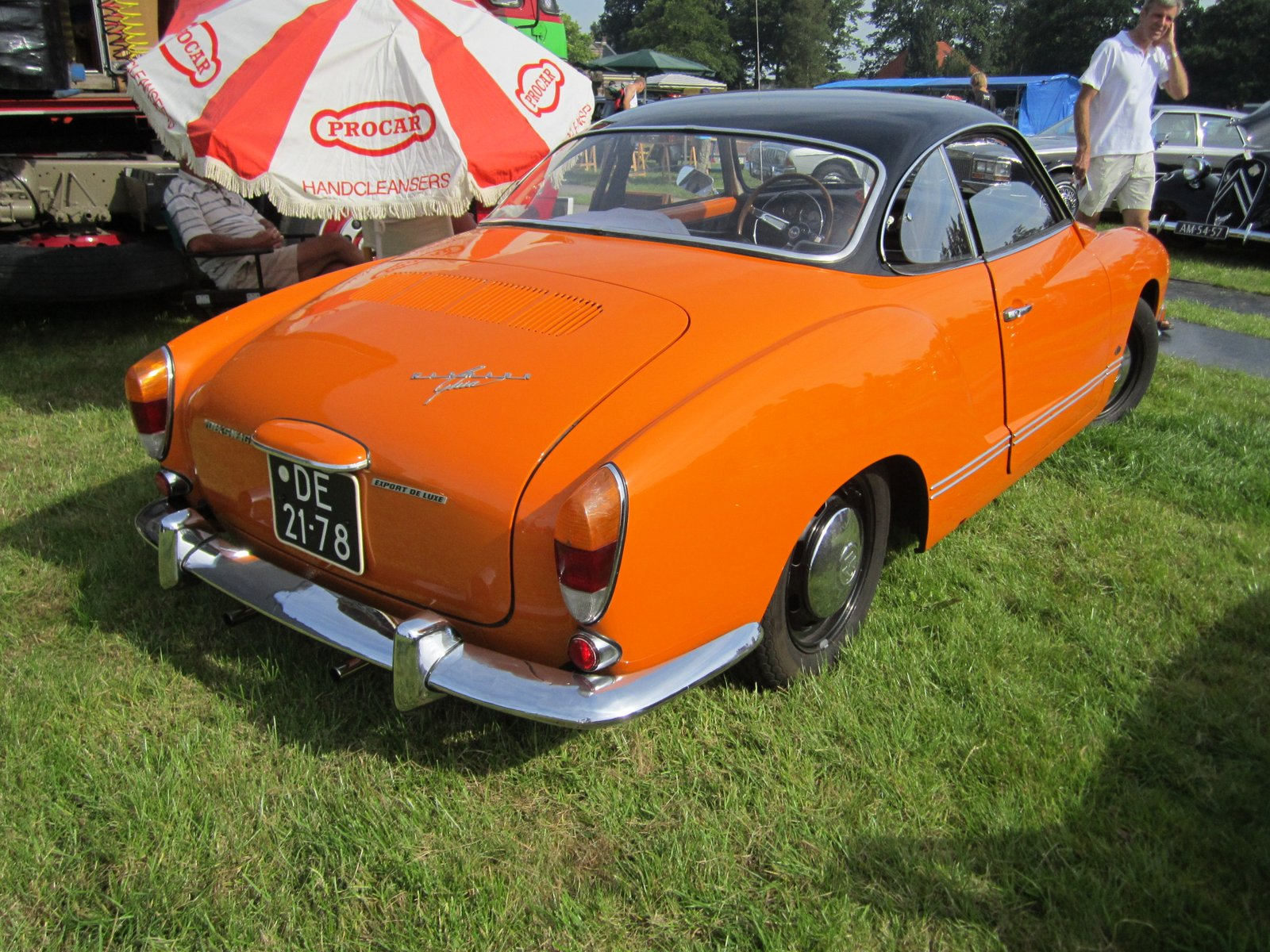 volkswagen 143041 karmann ghia 1971 pictures of classic cars. Black Bedroom Furniture Sets. Home Design Ideas