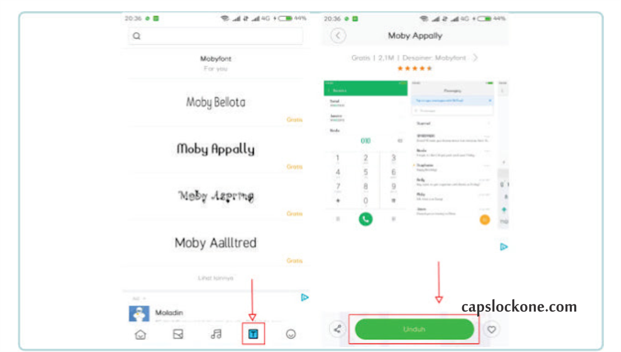 Cara Mengganti Font Xiaomi Tanpa Root Dengan Mudah