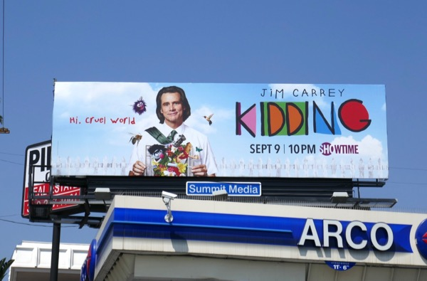 Kidding series premiere billboard