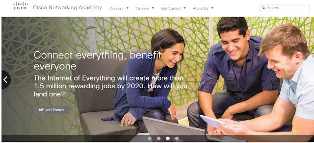 Cisco Networking Academy Online netacad.com