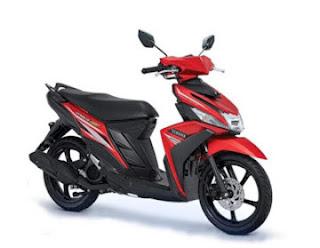 Promo Motor Yamaha Solo Surakarta 2017 Merah