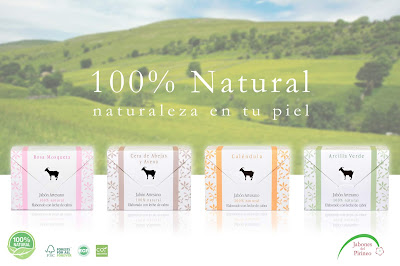 Jabón natural de tratamiento para la piel