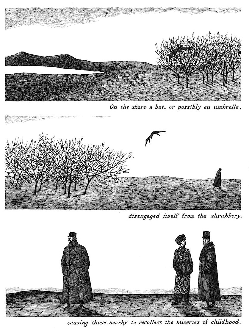 Edward Gorey cartoon