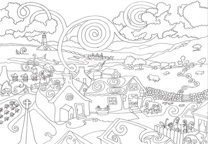 Disney Christmas Coloring Pages  Adults