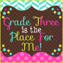 Grade Three is the Place for Me!