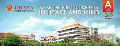 Pendaftaran Dan Biaya Kuliah Pascasarjana Universitas Surabaya UBAYA