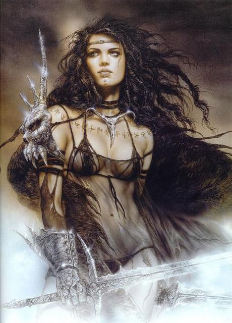 Evil Dark Fantasy Girl Wallpaper Hd Hd Fantasy Warrior 55