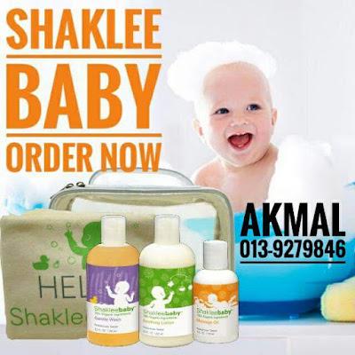 Testimoni Produk Penjagaan Kulit Bayi Shaklee Yang Selamat Dan Organik