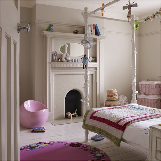 Fun Girl Room: Key Interiors By Shinay: Vintage Style Teen Girls Bedroom
