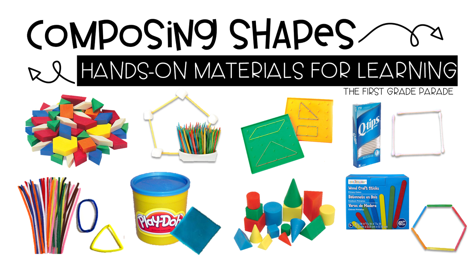 Many of them are perfect for composing both 2D and 3D shapes. And if you  haven't figured out a way these materials can be ...