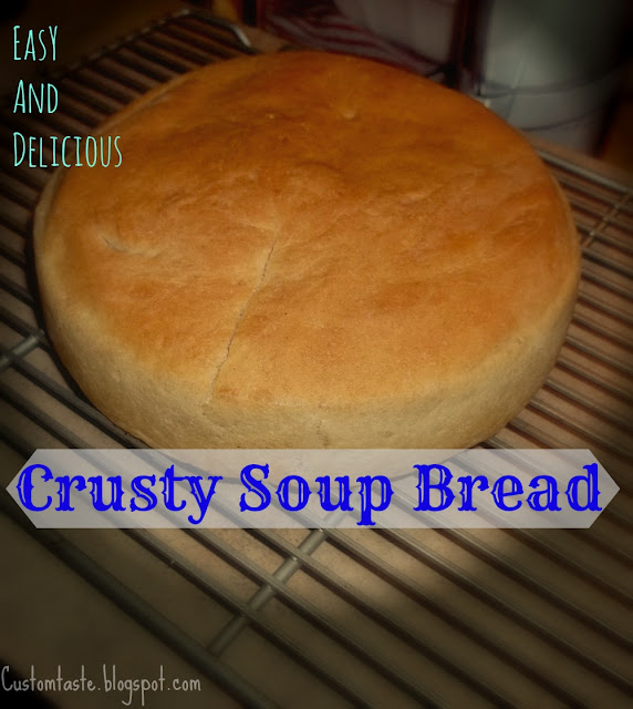 Crusty Soup Bread by Custom Taste