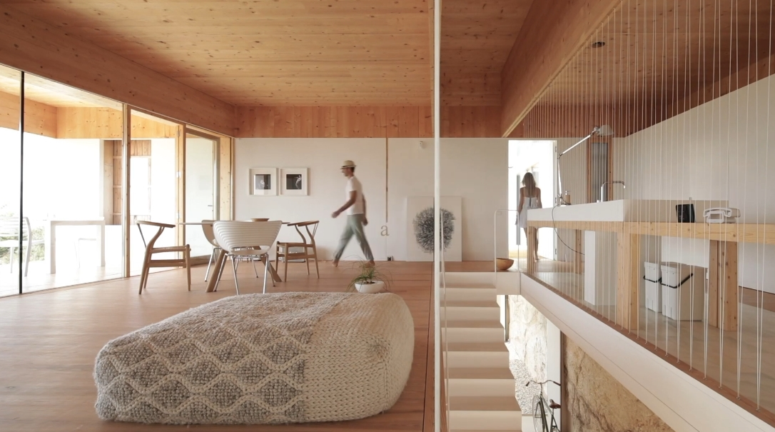 22 Interior Design Photos vs. Marià Castelló Martínez Modern Home Nested In Stone Tour