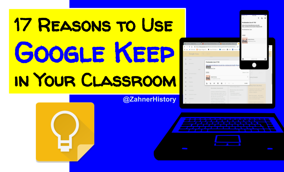 Learning Blog: 17 Reasons to Use Google Keep in Your Classroom