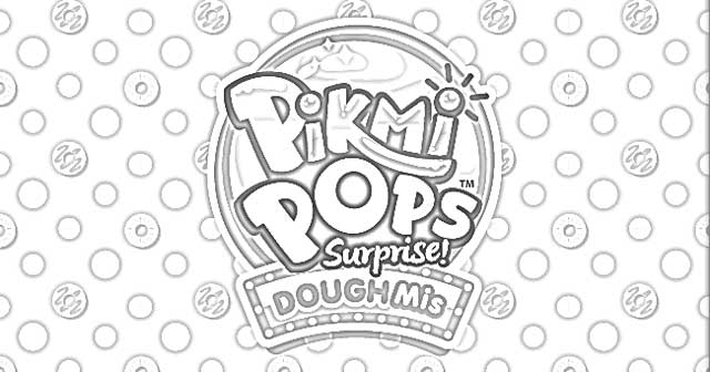 The Holiday Site Coloring Pages Pikmi Pops Surprise