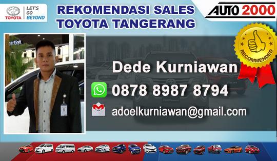 Rekomendasi Sales Toyota Sangiang Pasar Kemis Tangerang