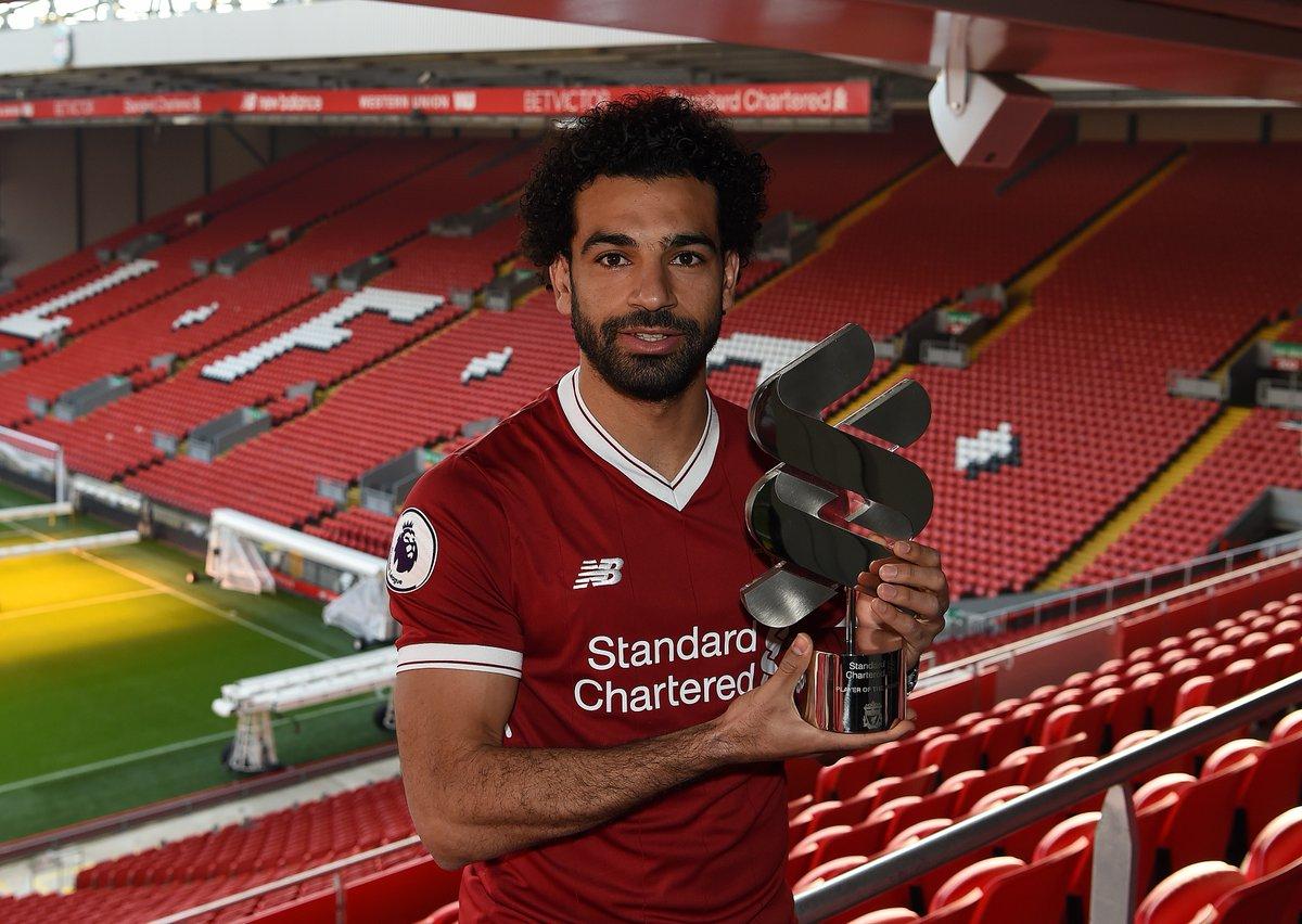 محمد صلاح يتوج بجائزة افضل لاعب في شهر ديسمبر