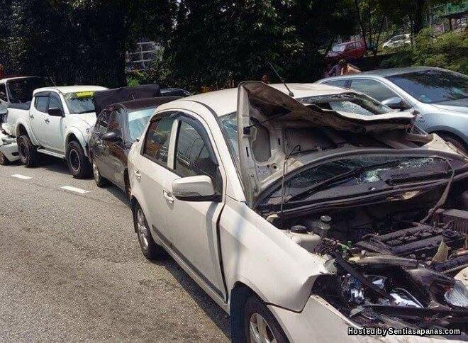 2 Perkara Penting Jika Kereta Kemalangan
