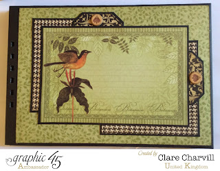 Botanicabella Scrap Book Clare Charvill Graphic 45