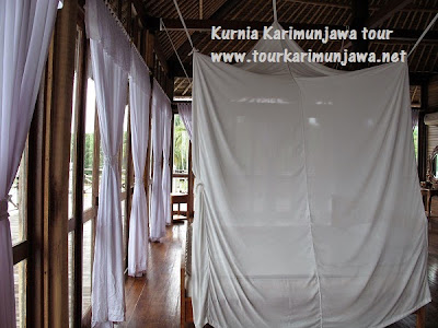 kamar master suite nirwana resort karimunjawa