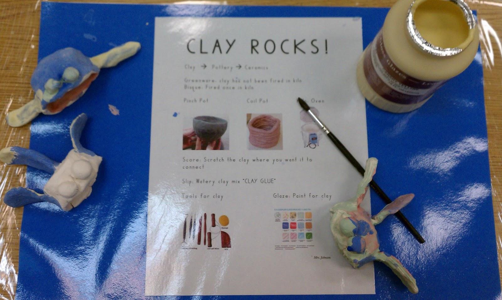 Art Rocks Clay Rocks