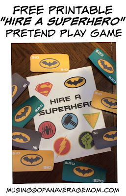 superhero pretend play
