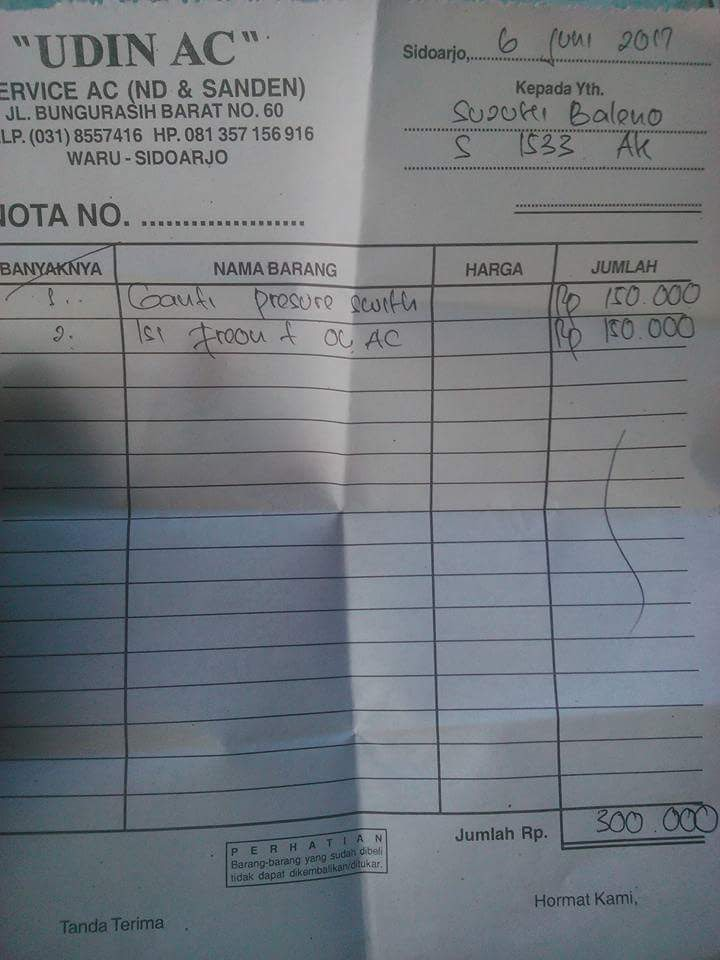 Biaya Isi Freon Ac Mobil Ufc Stream N