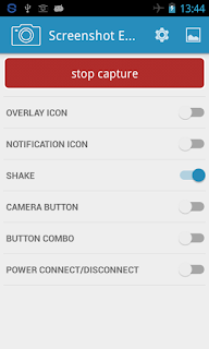 Aplikasi Screenshot Easy di Stop Capture Android