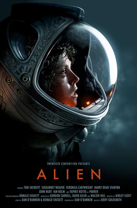Sigourney Weaver în Alien