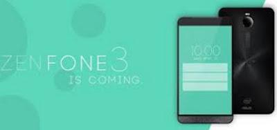 Asus Zenfone 3 Dirilis Atau Diluncurkan Tahun 2016